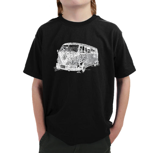Boy's T-shirt - THE 70'S