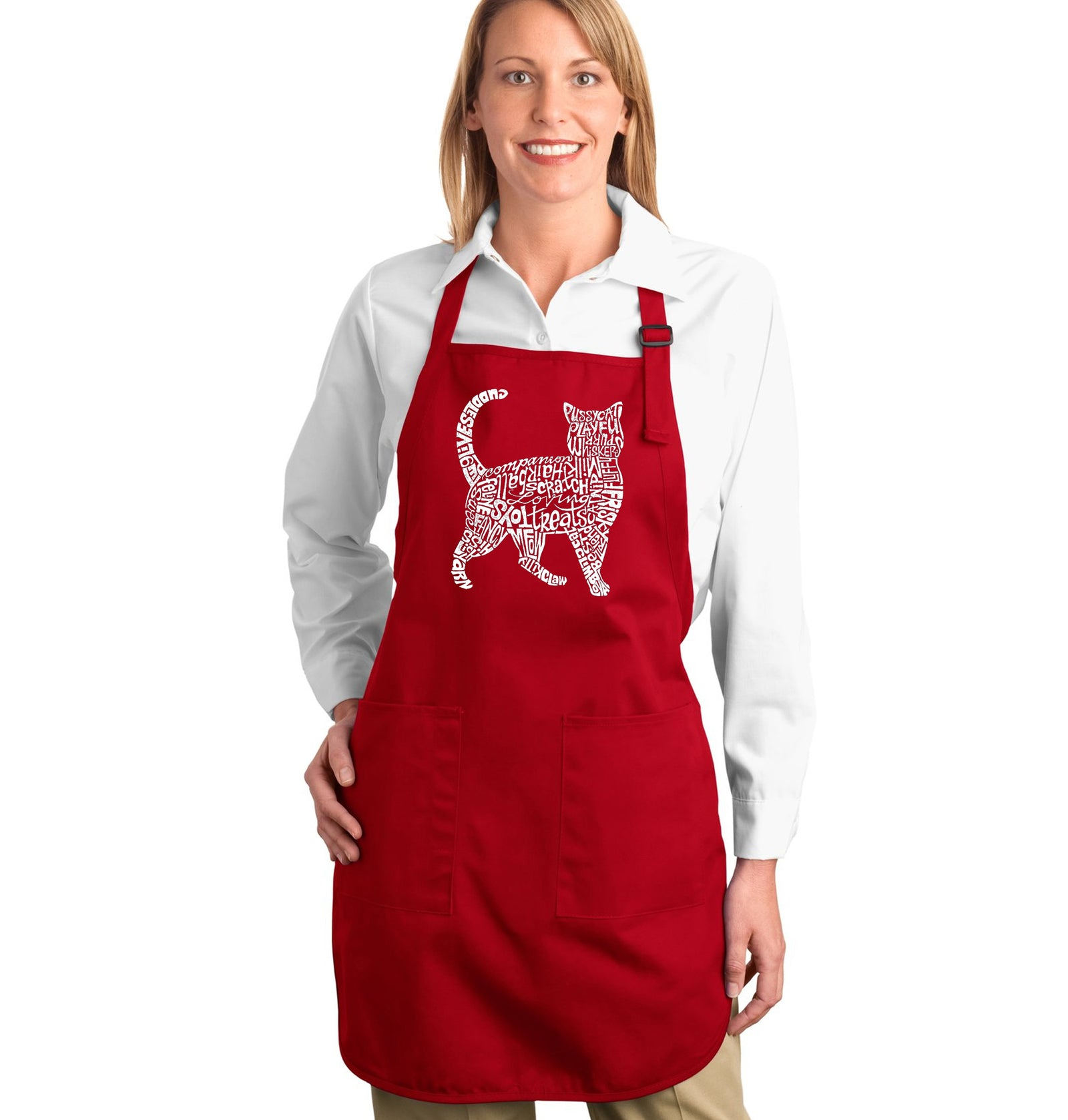 Full Length Apron - Cat