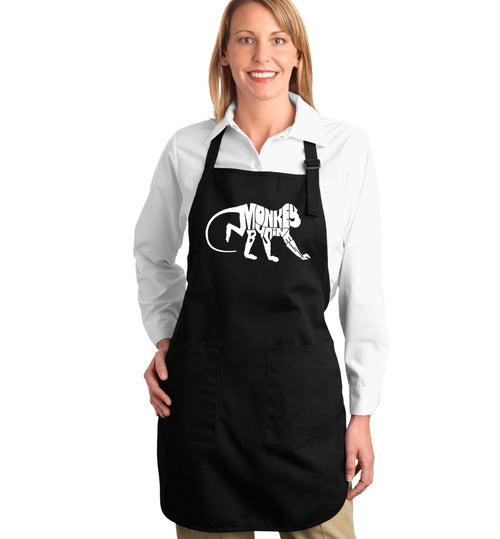 Full Length Apron - Monkey Business