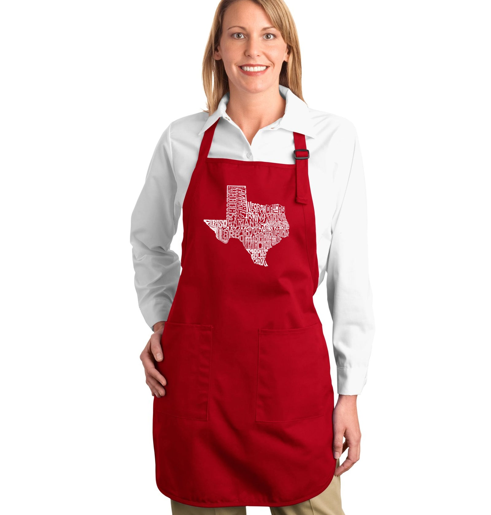 Full Length Apron - The Great State of Texas