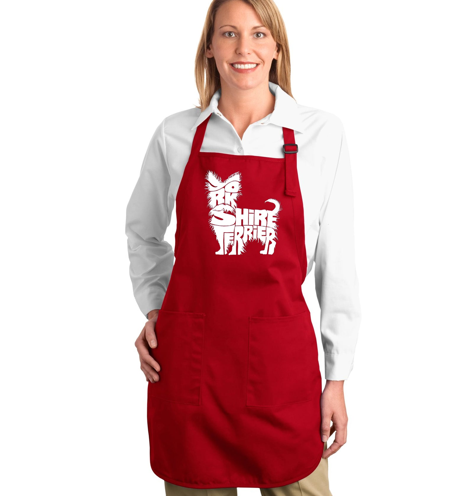 Full Length Apron - Yorkie