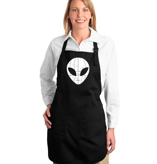 Full Length Apron - I COME IN PEACE
