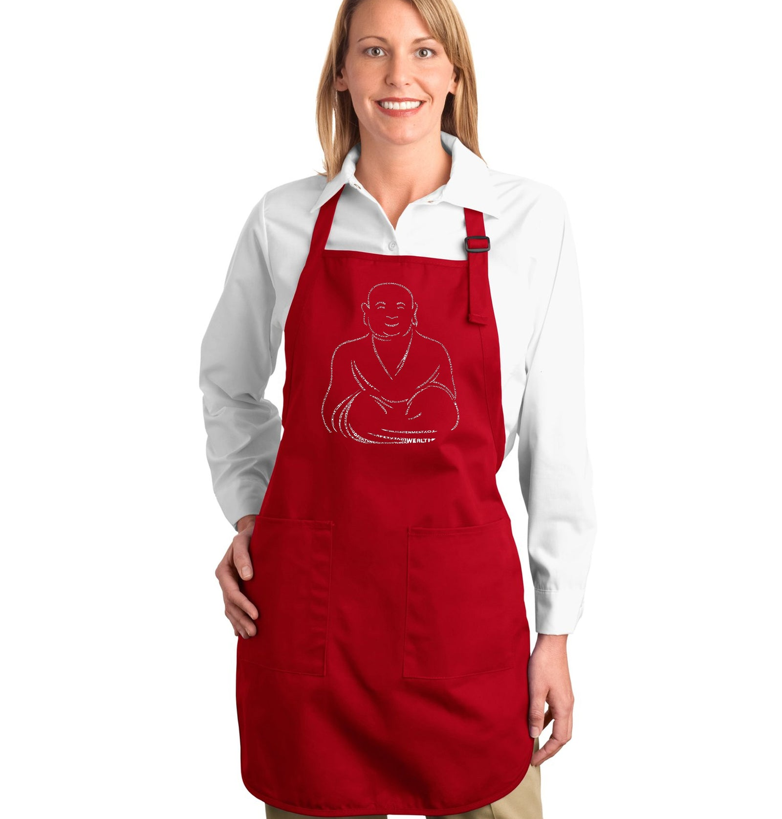 Full Length Apron - POSITIVE WISHES