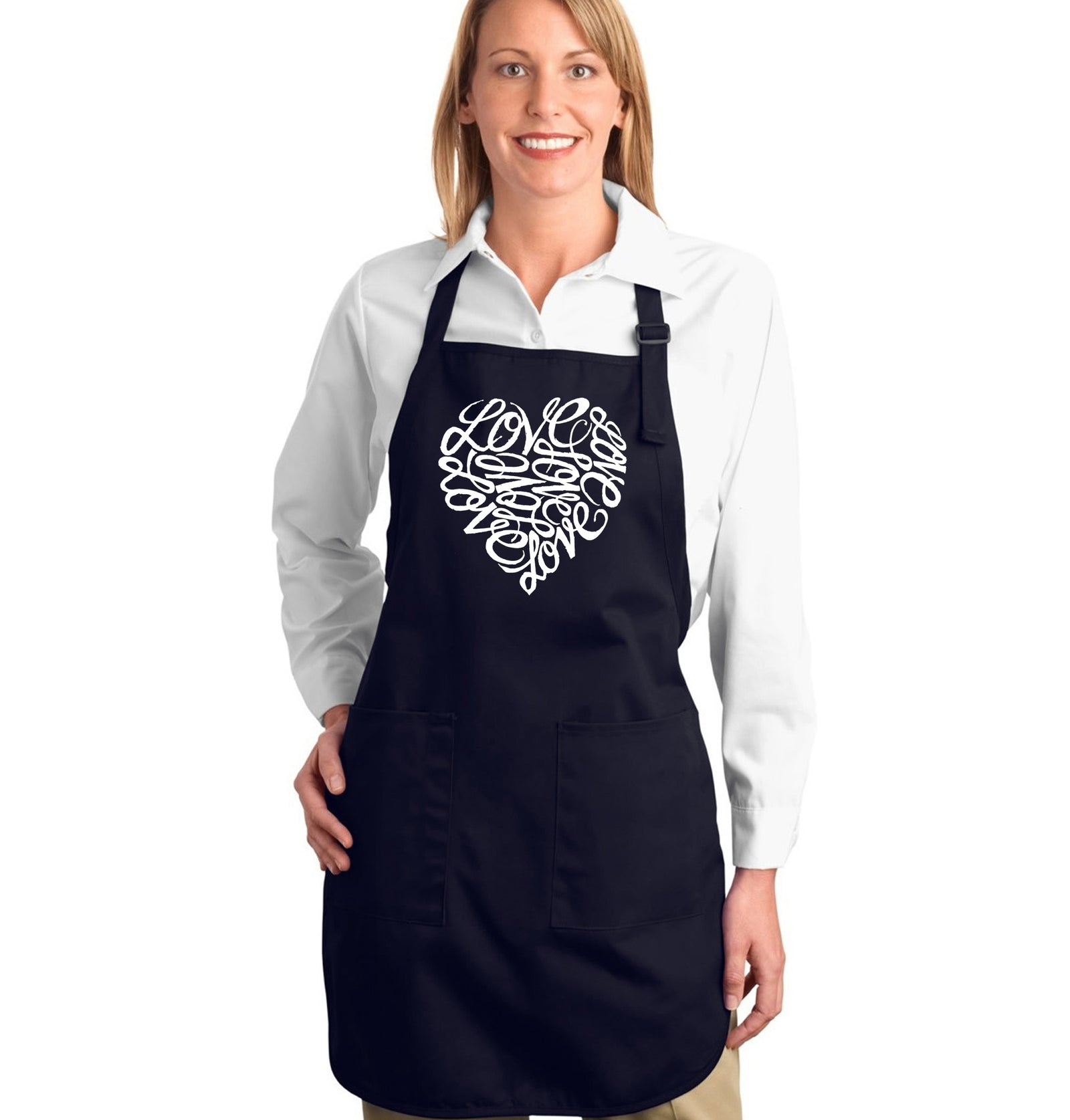 Full Length Apron - LOVE