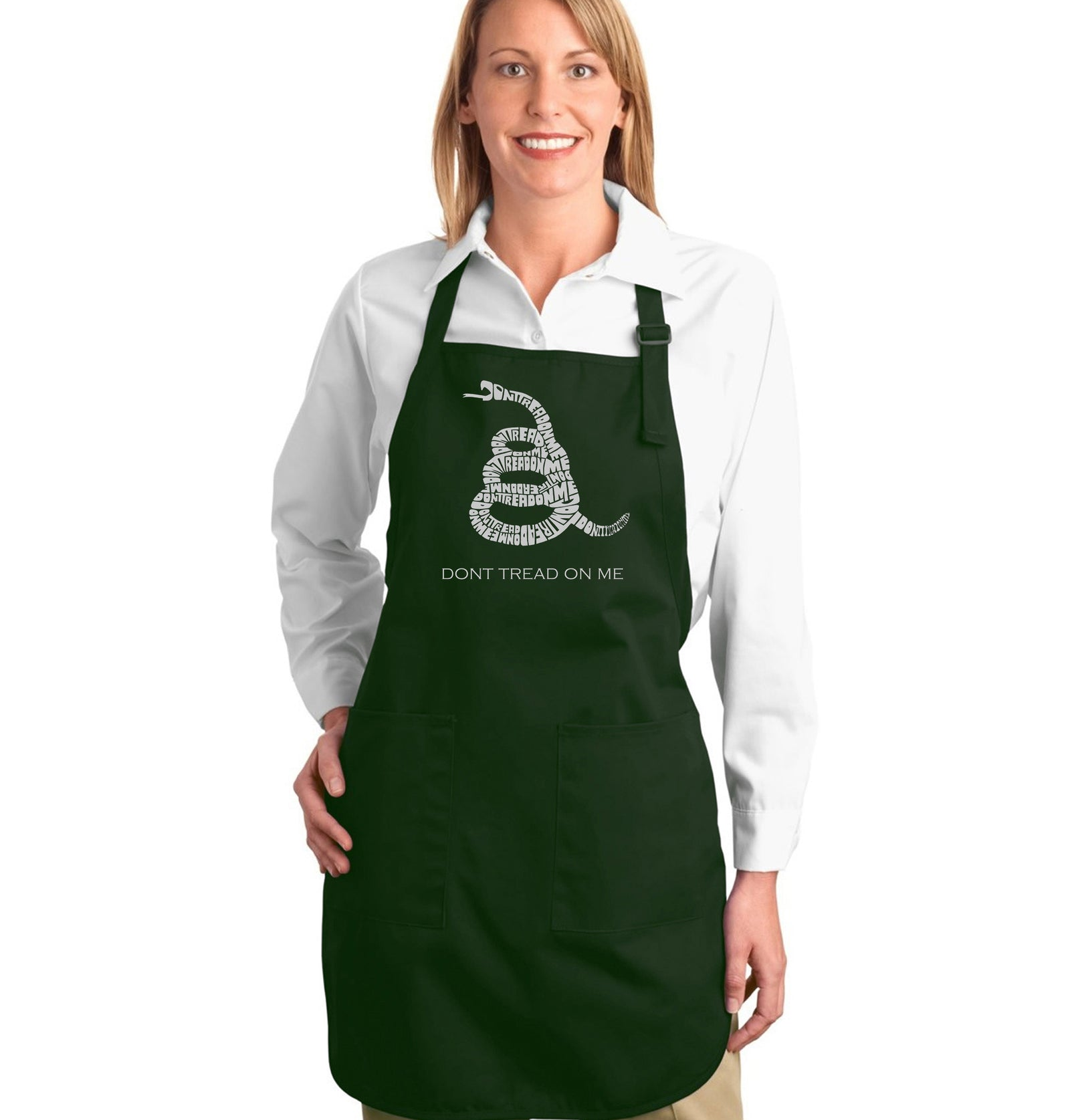 Full Length Apron - DONT TREAD ON ME