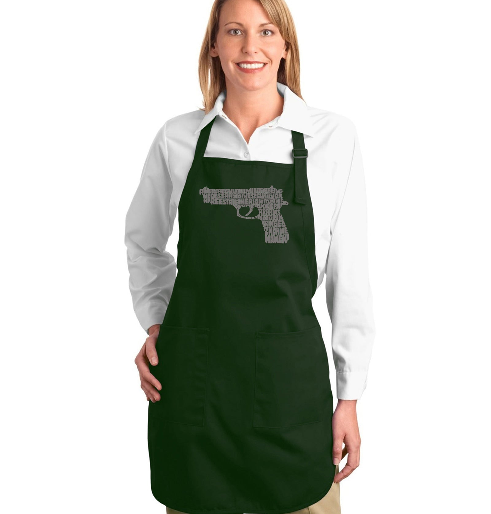 Full Length Apron - RIGHT TO BEAR ARMS
