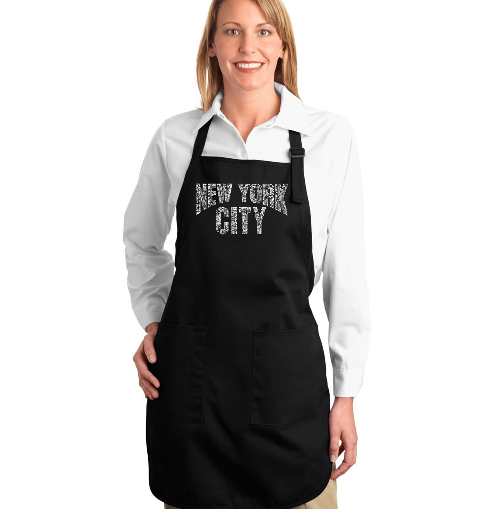 Full Length Apron - NYC NEIGHBORHOODS
