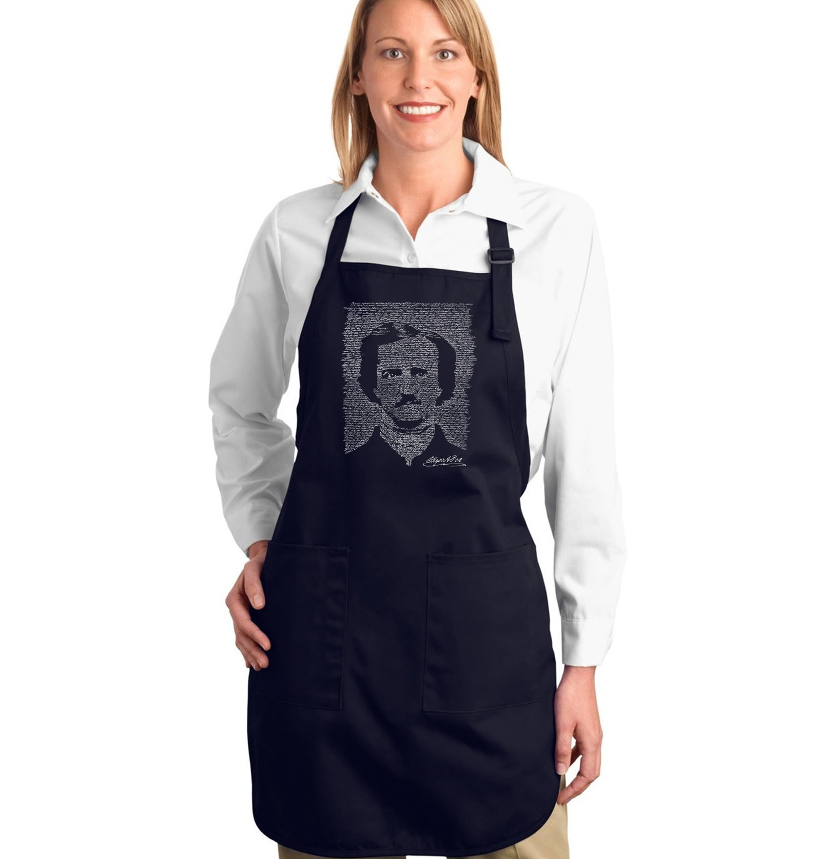Full Length Apron - EDGAR ALLAN POE - THE RAVEN