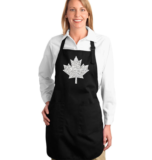 Full Length Apron - CANADIAN NATIONAL ANTHEM