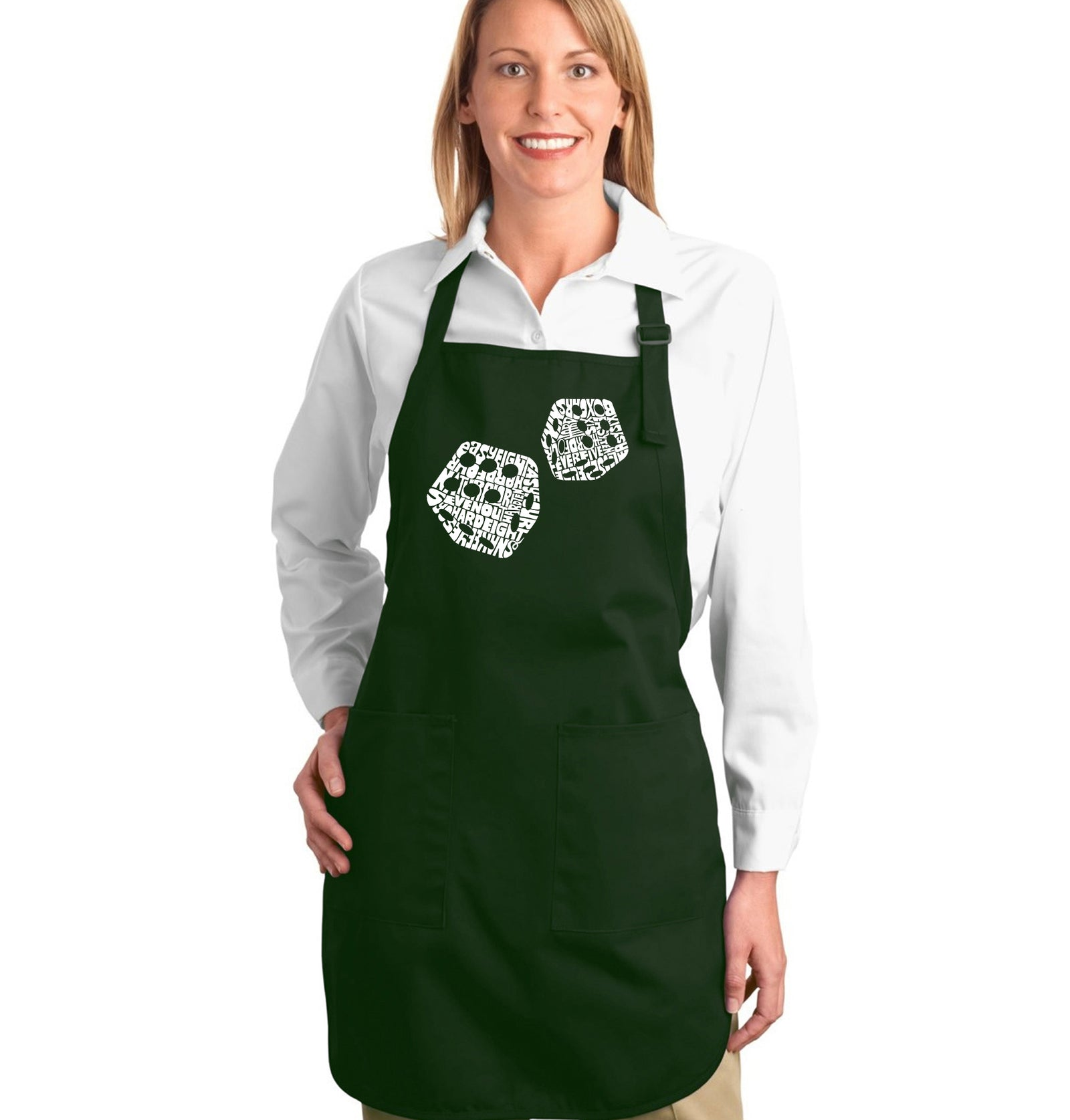 Full Length Apron - DIFFERENT ROLLS THROWN IN THE GAME OF CRAPS