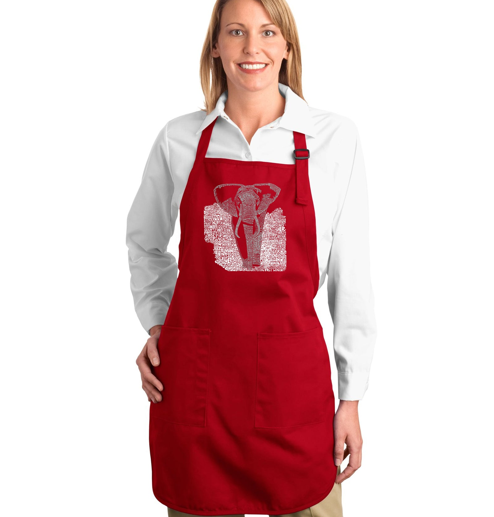 Full Length Apron - ELEPHANT