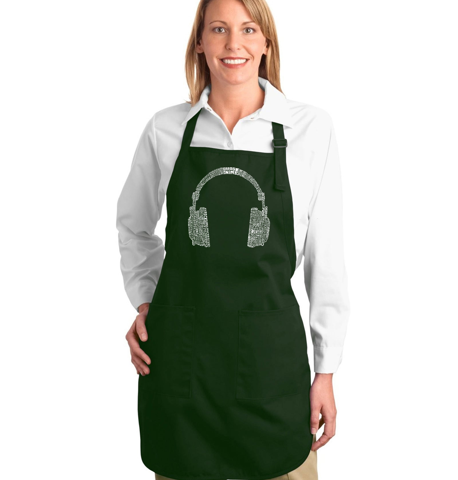 Full Length Apron - 63 DIFFERENT GENRES OF MUSIC