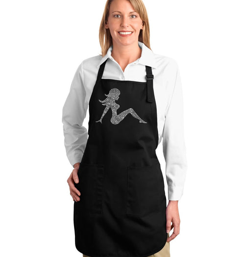 Full Length Apron - MUDFLAP GIRL