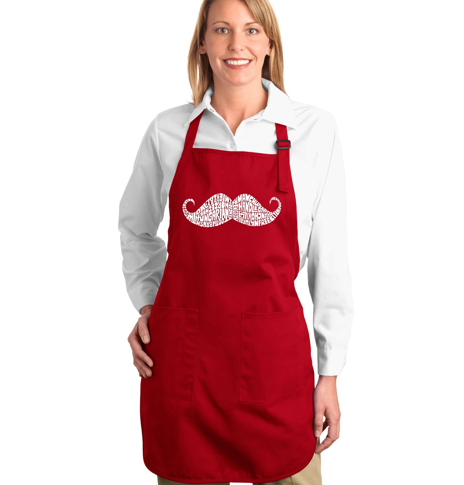 Full Length Apron - WAYS TO STYLE A MOUSTACHE