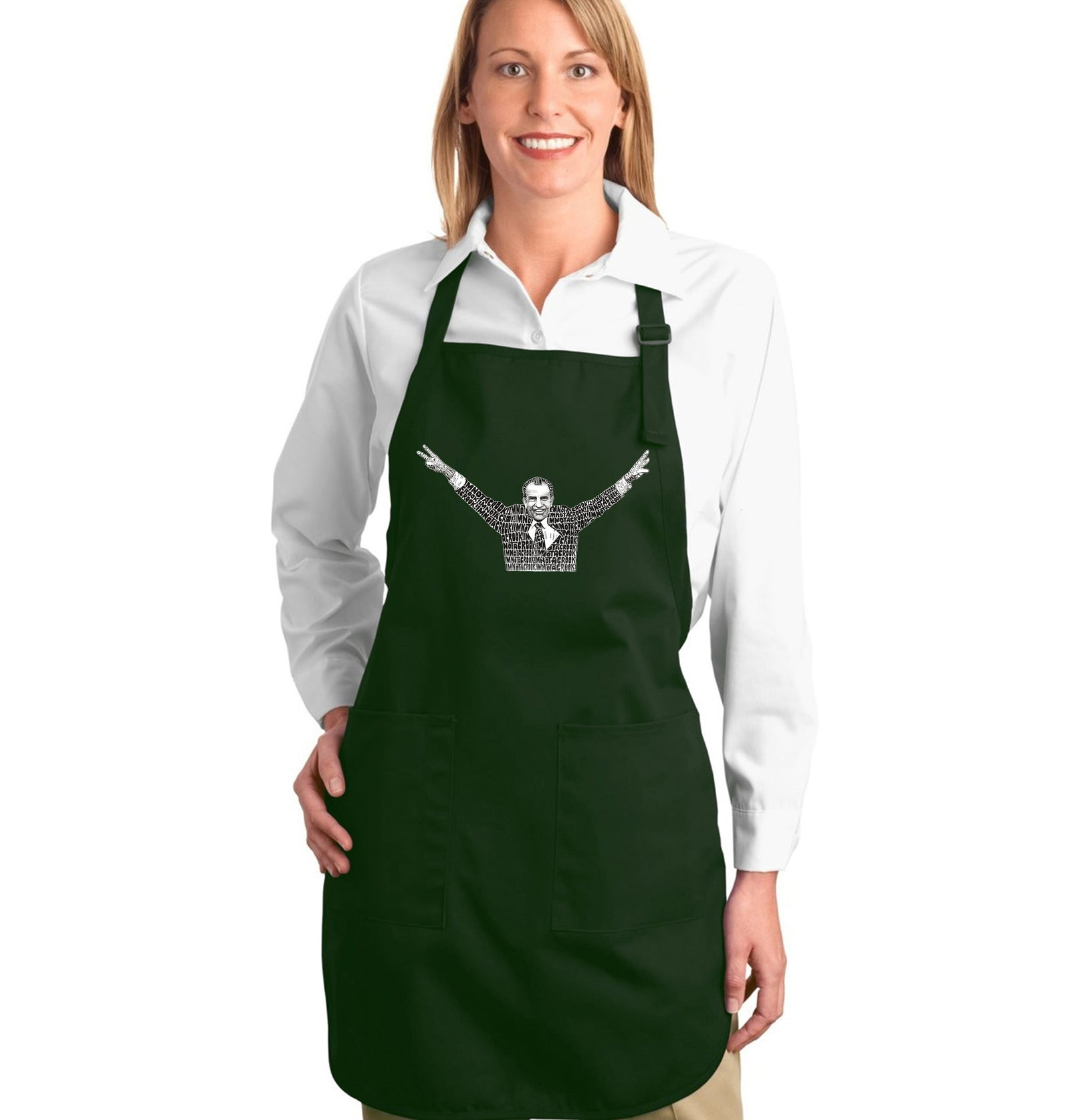 Full Length Apron - I'M NOT A CROOK