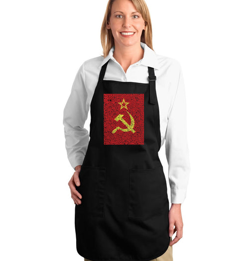 Full Length Apron - Lyrics to the Soviet National Anthem