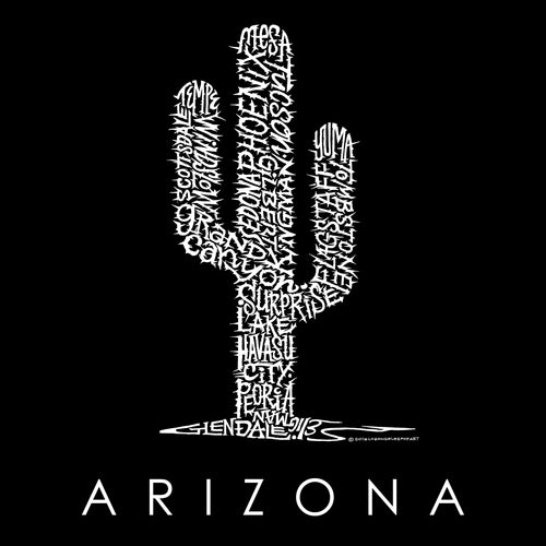 Men's Sleeveless T-shirt - Arizona Cities