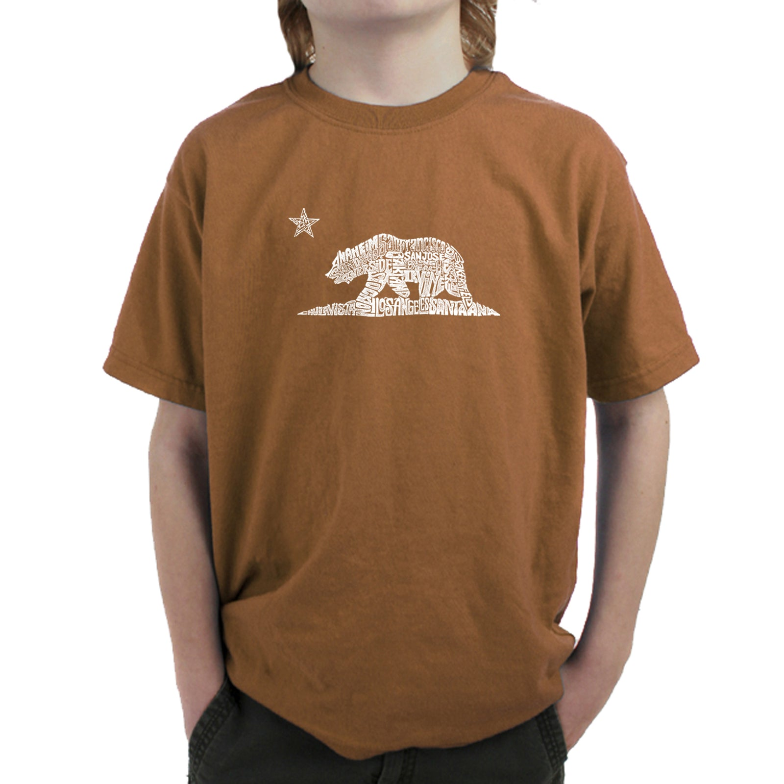 Boy's T-shirt - California Bear