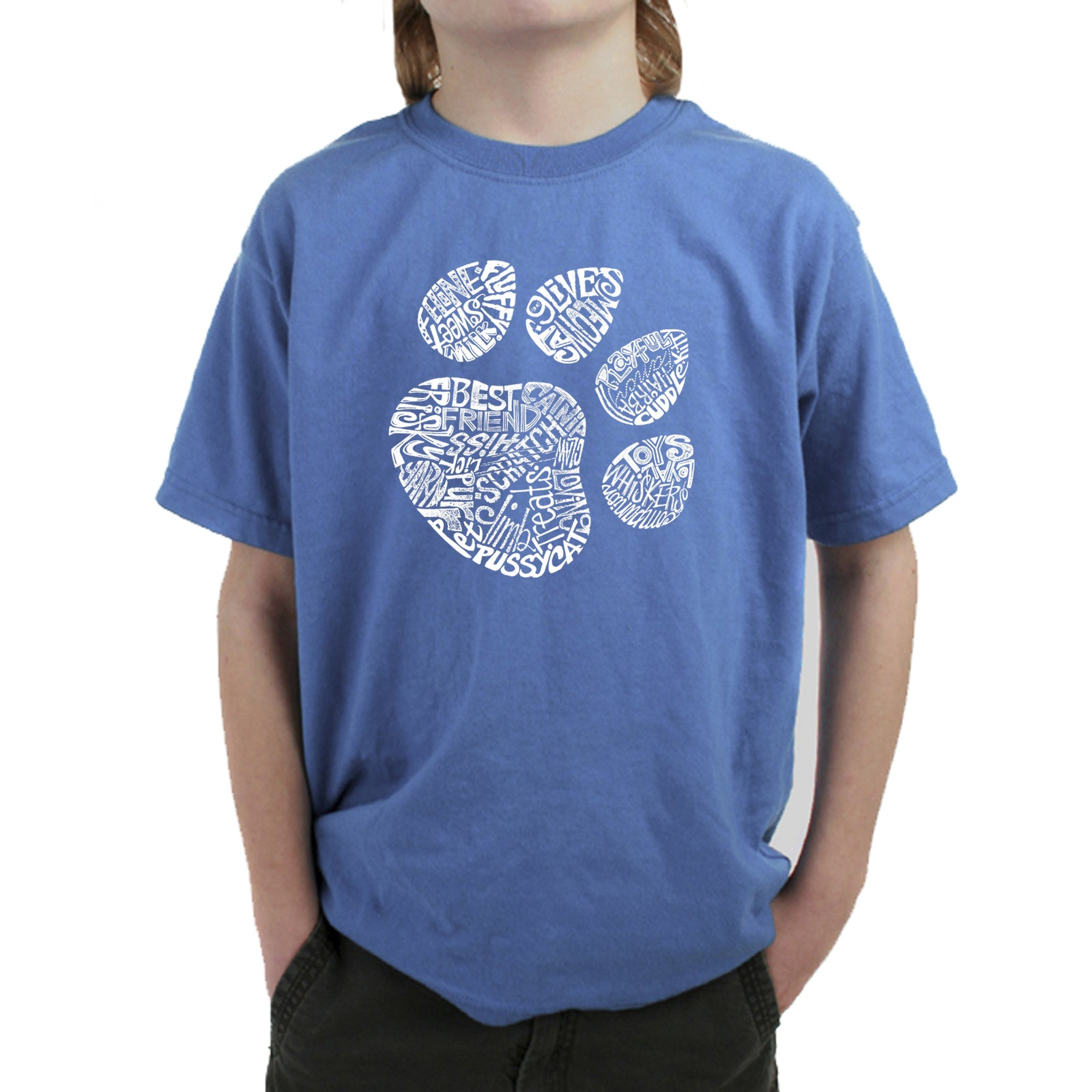 Boy's T-shirt - Cat Paw
