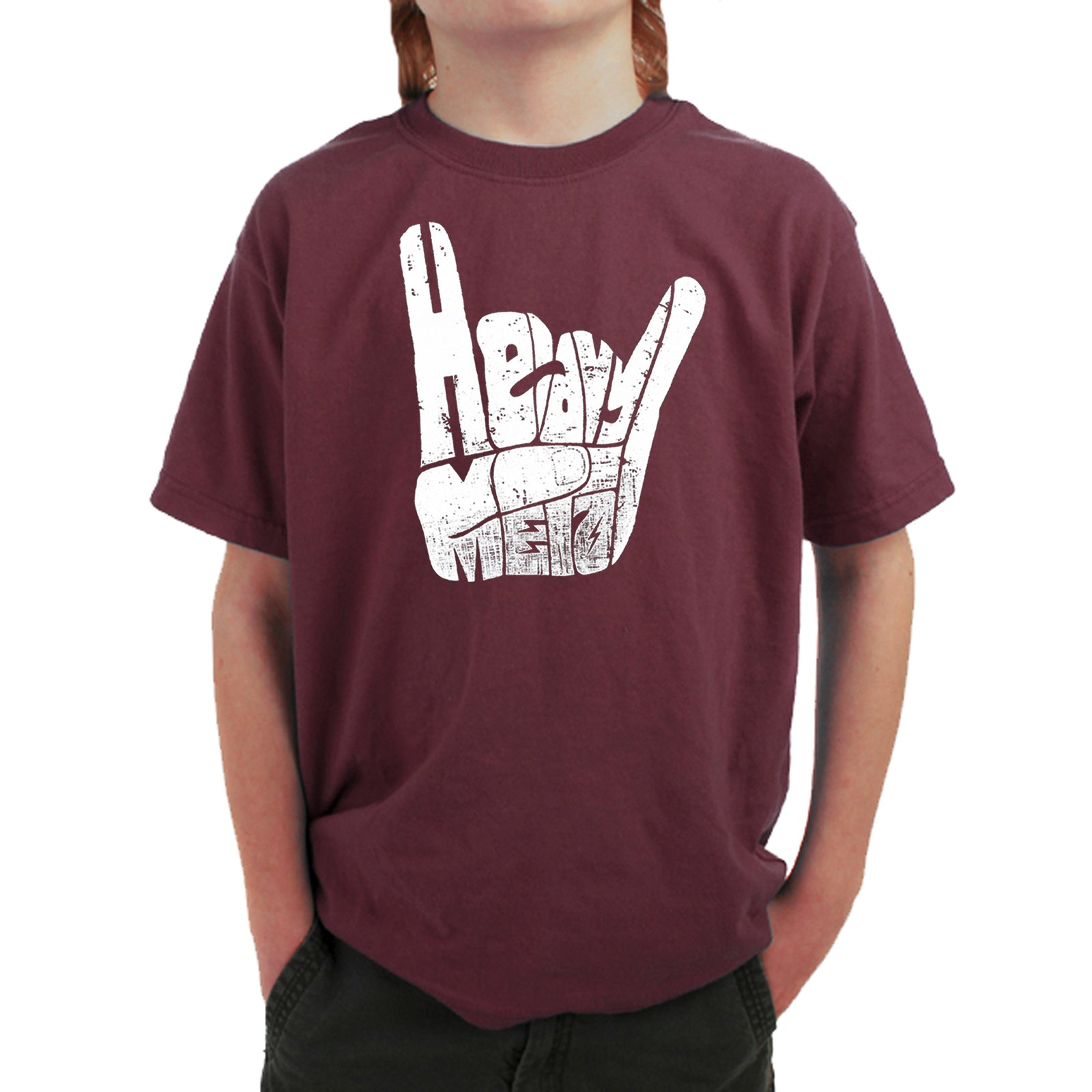 Boy's T-shirt - Heavy Metal