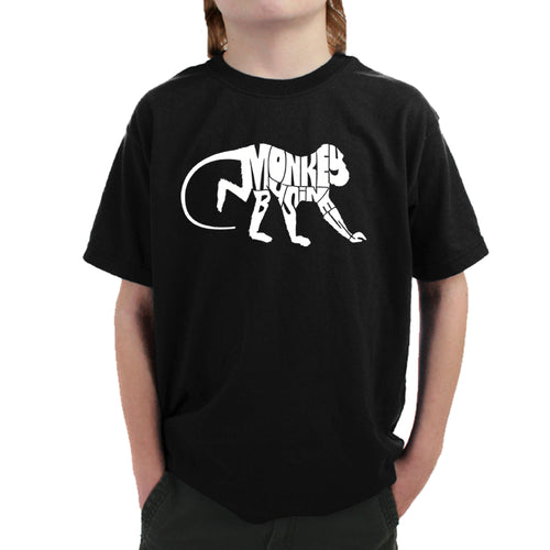 Boy's T-shirt - Monkey Business