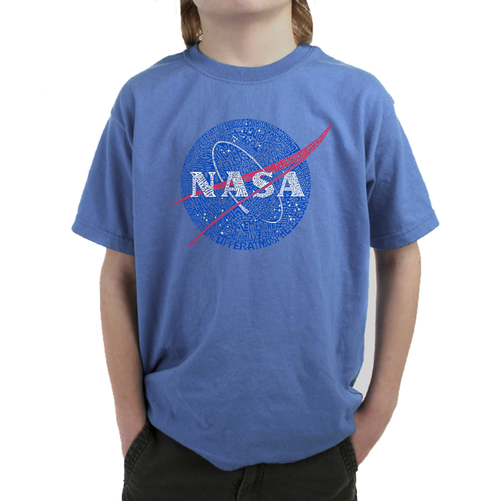 Boy's Word Art T-shirt - NASA's Most Notable Missions
