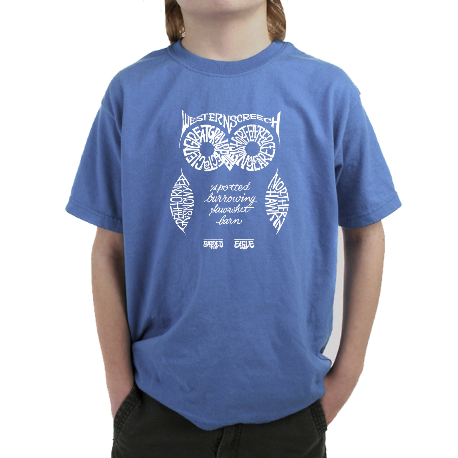 Boy's T-shirt - Owl
