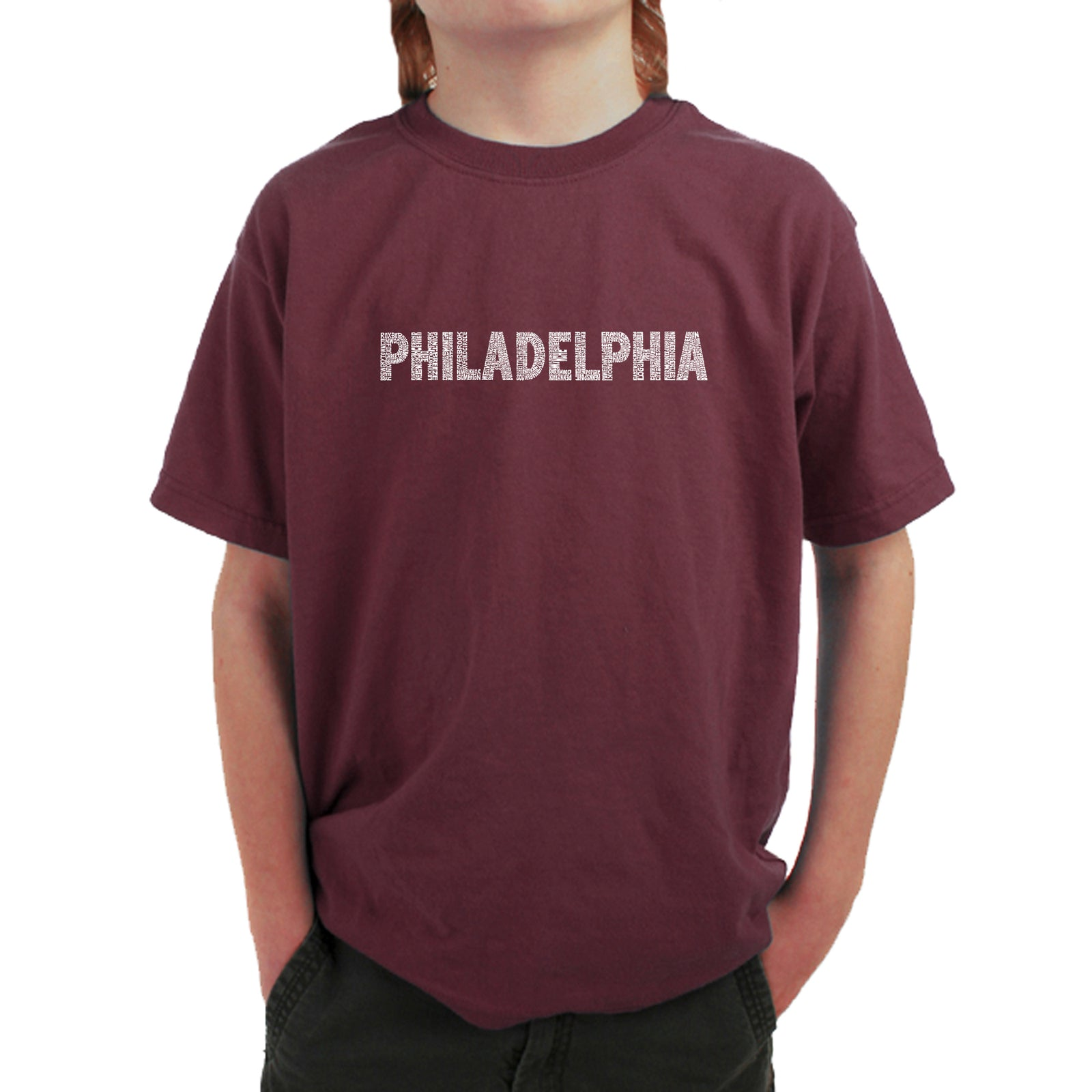 Boy's T-shirt - PHILADELPHIA NEIGHBORHOODS
