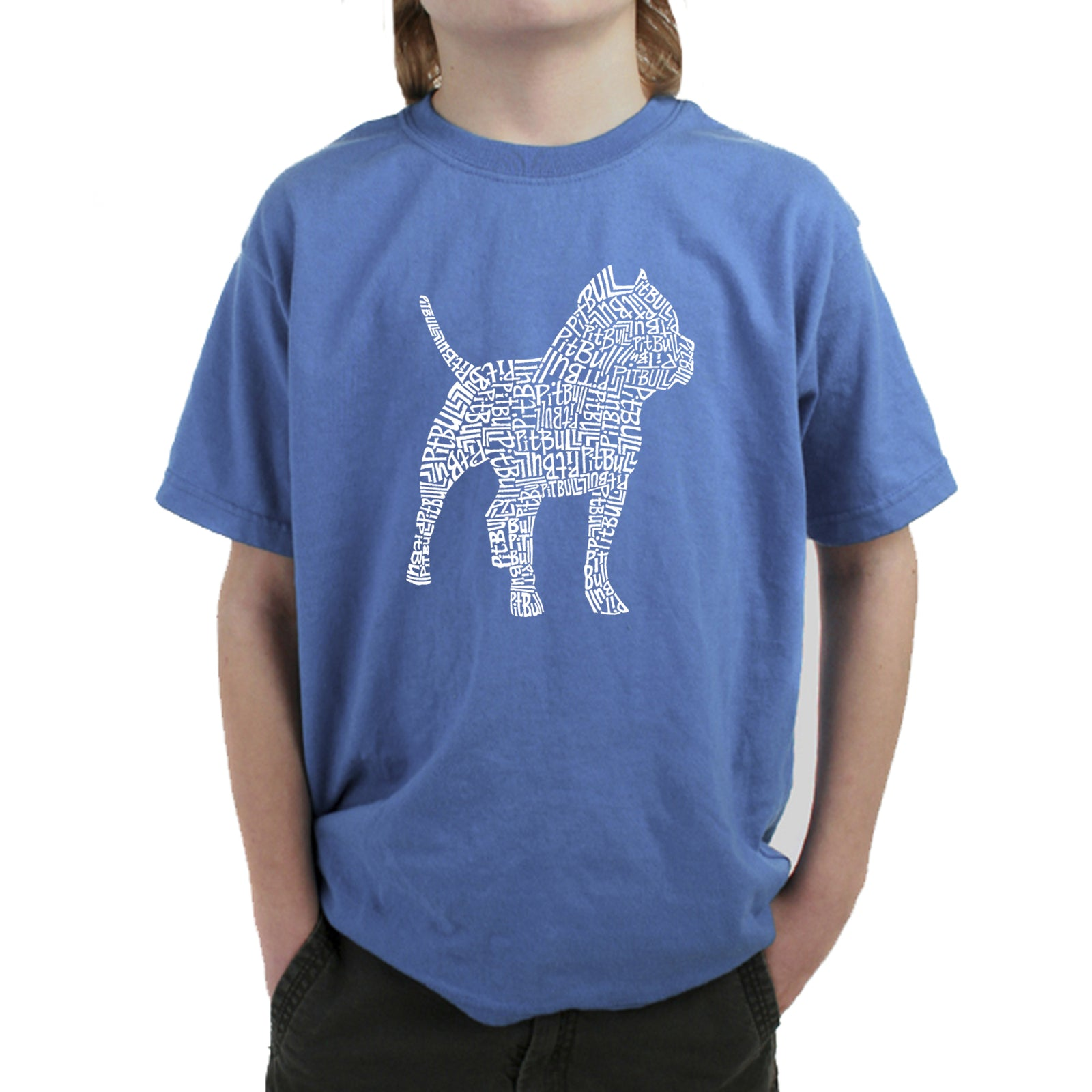 Boy's T-shirt - Pitbull