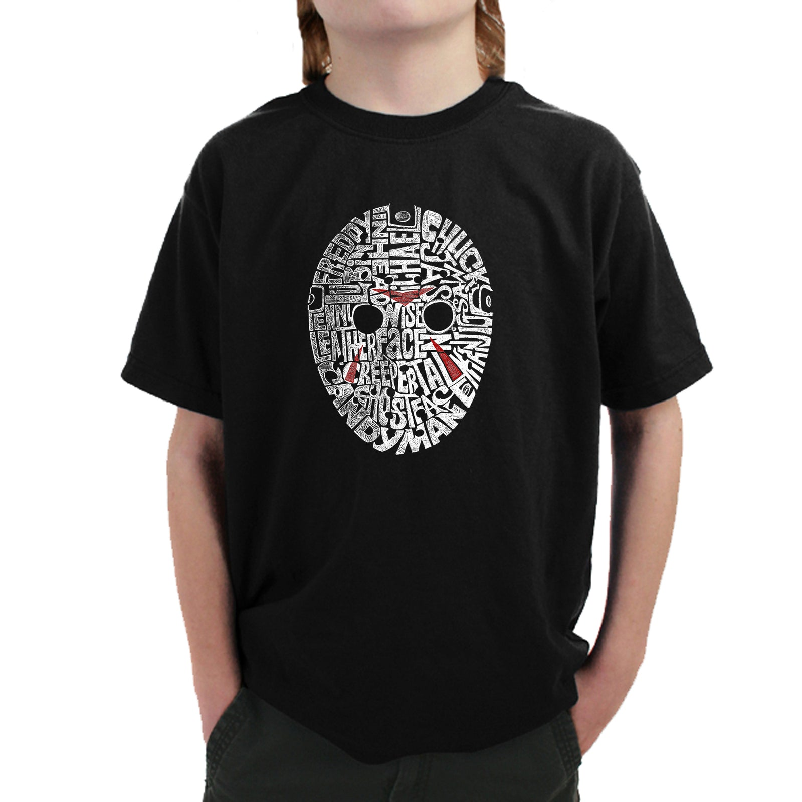 Boy's T-shirt - Slasher Movie Villians