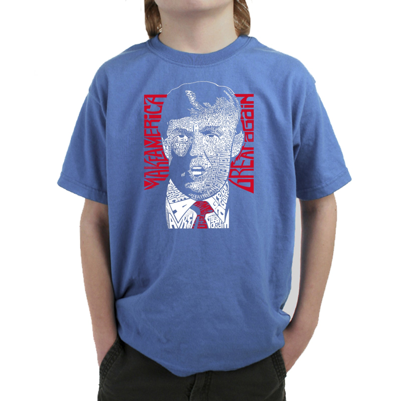 Boy's T-shirt - TRUMP  - Make America Great Again