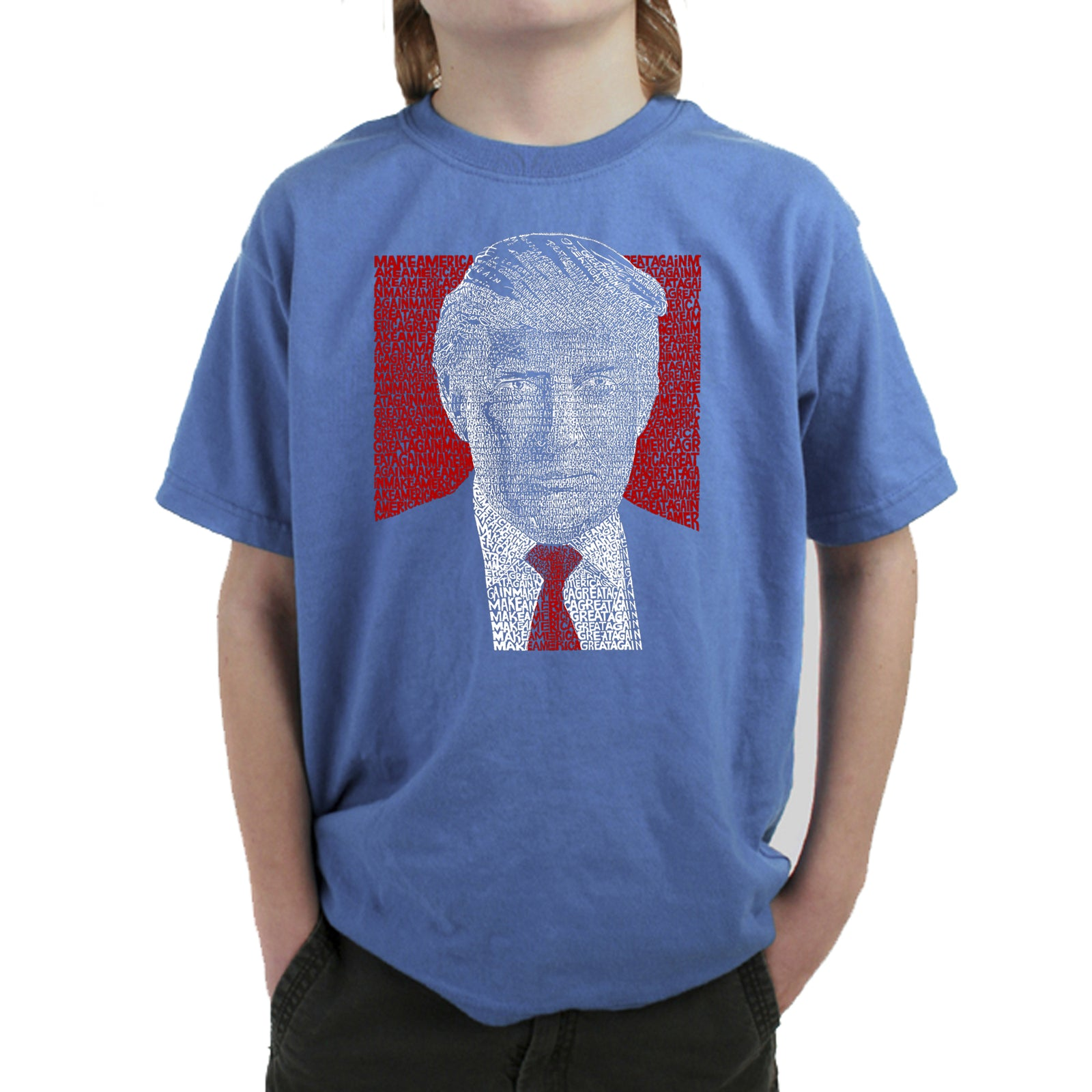 Boy's T-shirt - TRUMP 2016 - Make America Great Again