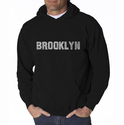 Men's Word Art Hooded Sweatshirt - Humpbk
