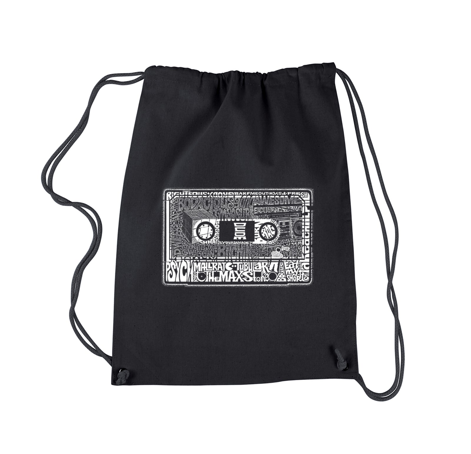 Drawstring Backpack - The 80's