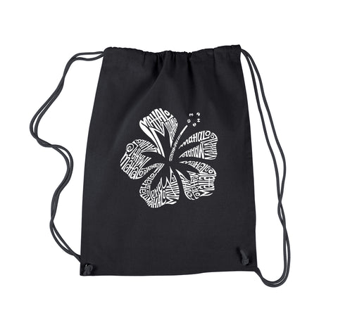 Drawstring Backpack - PEACE, LOVE, & MUSIC