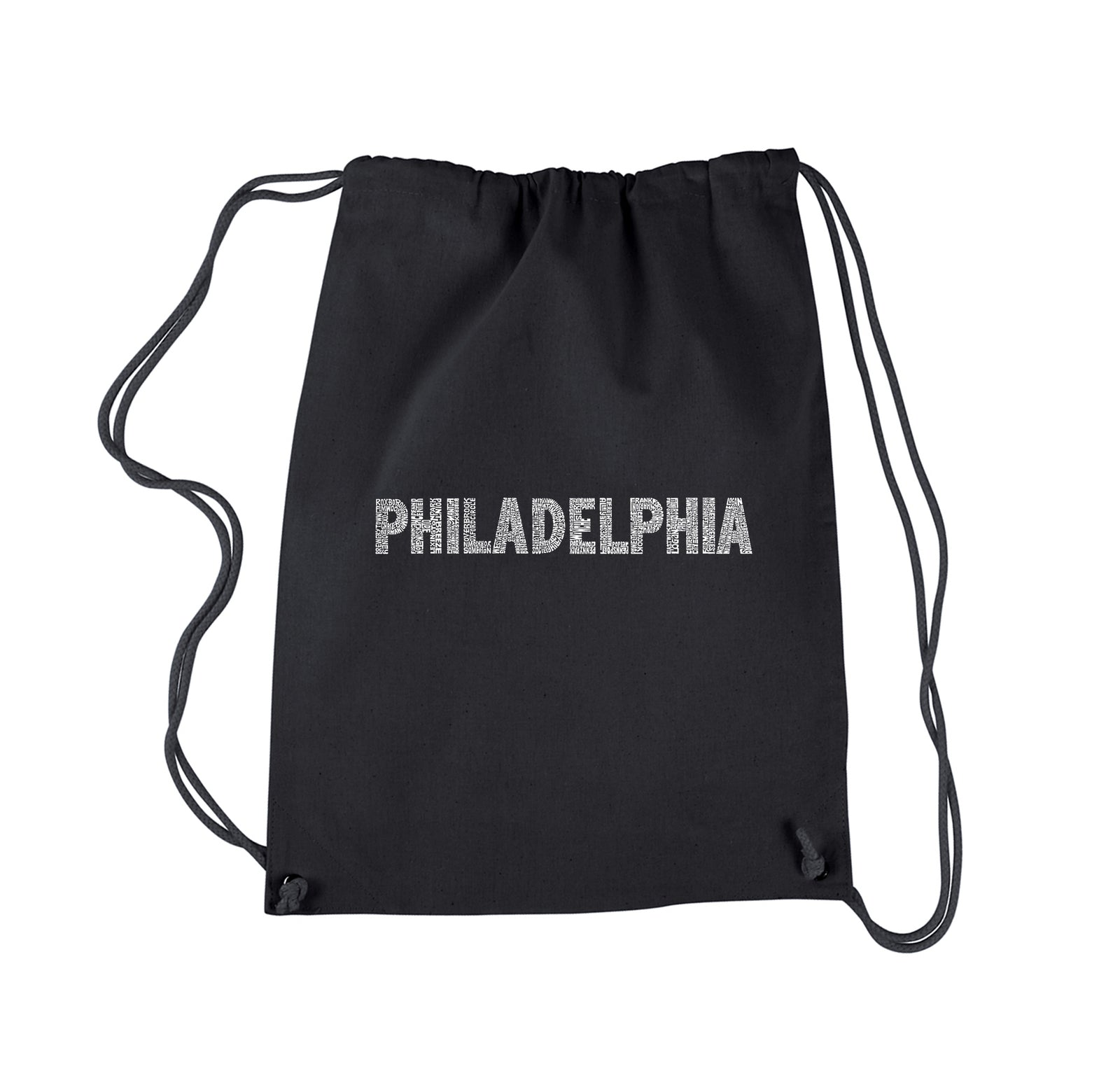 Drawstring Backpack - PHILADELPHIA NEIGHBORHOODS
