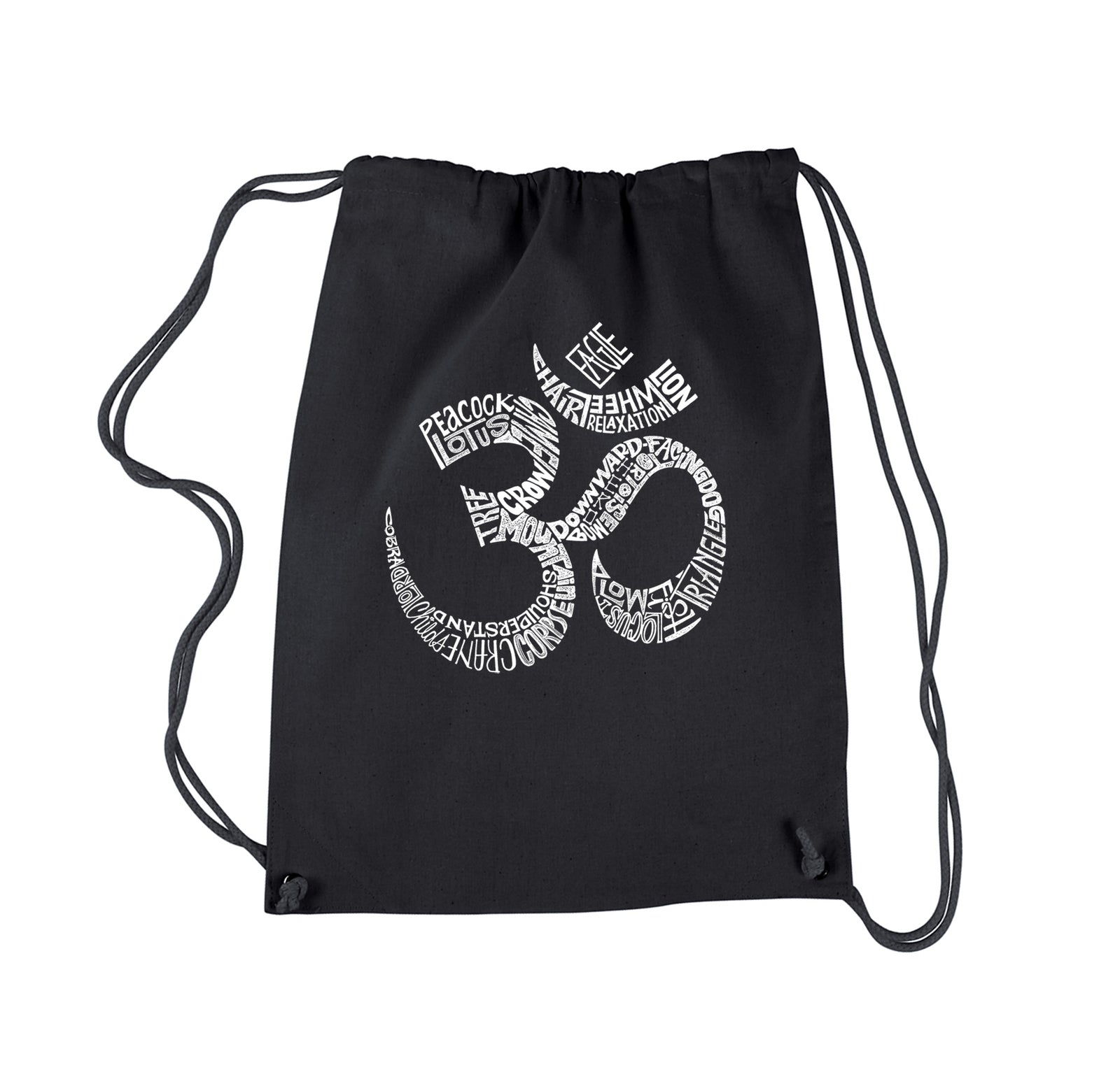 Drawstring Backpack - Poses OM