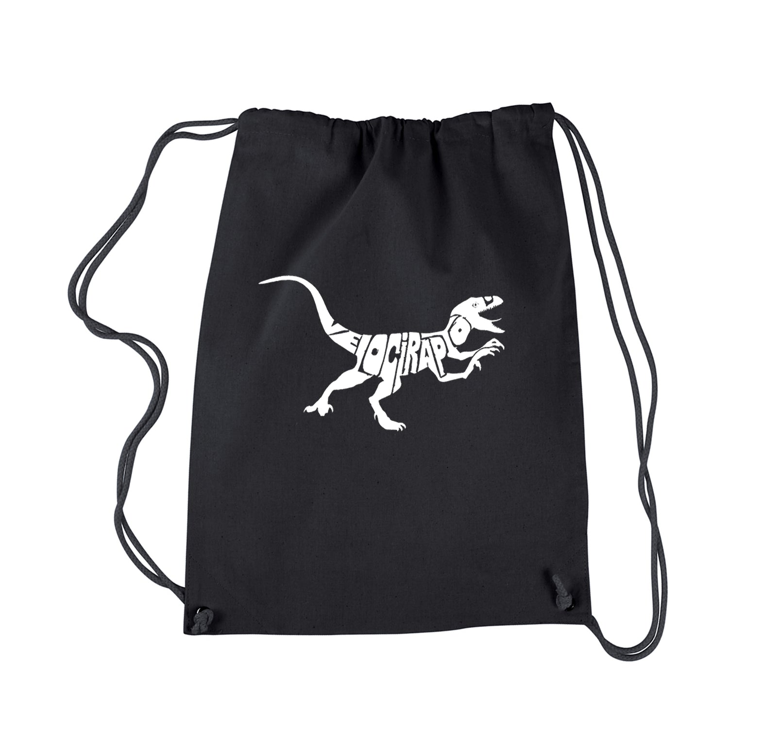 Drawstring Backpack - Velociraptor