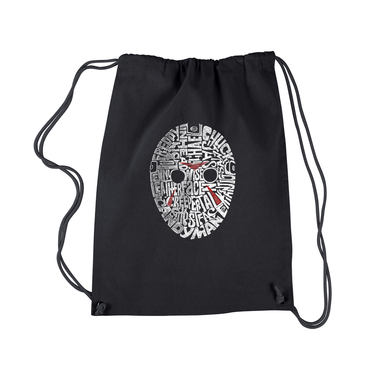 Drawstring Backpack - Slasher Movie Villians