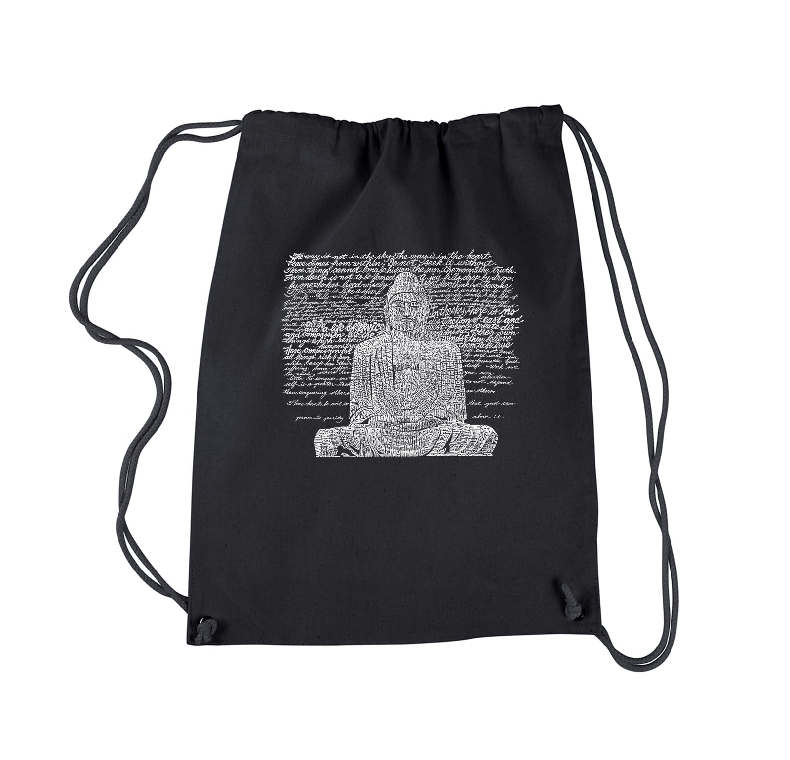 Drawstring Backpack - Zen Buddha
