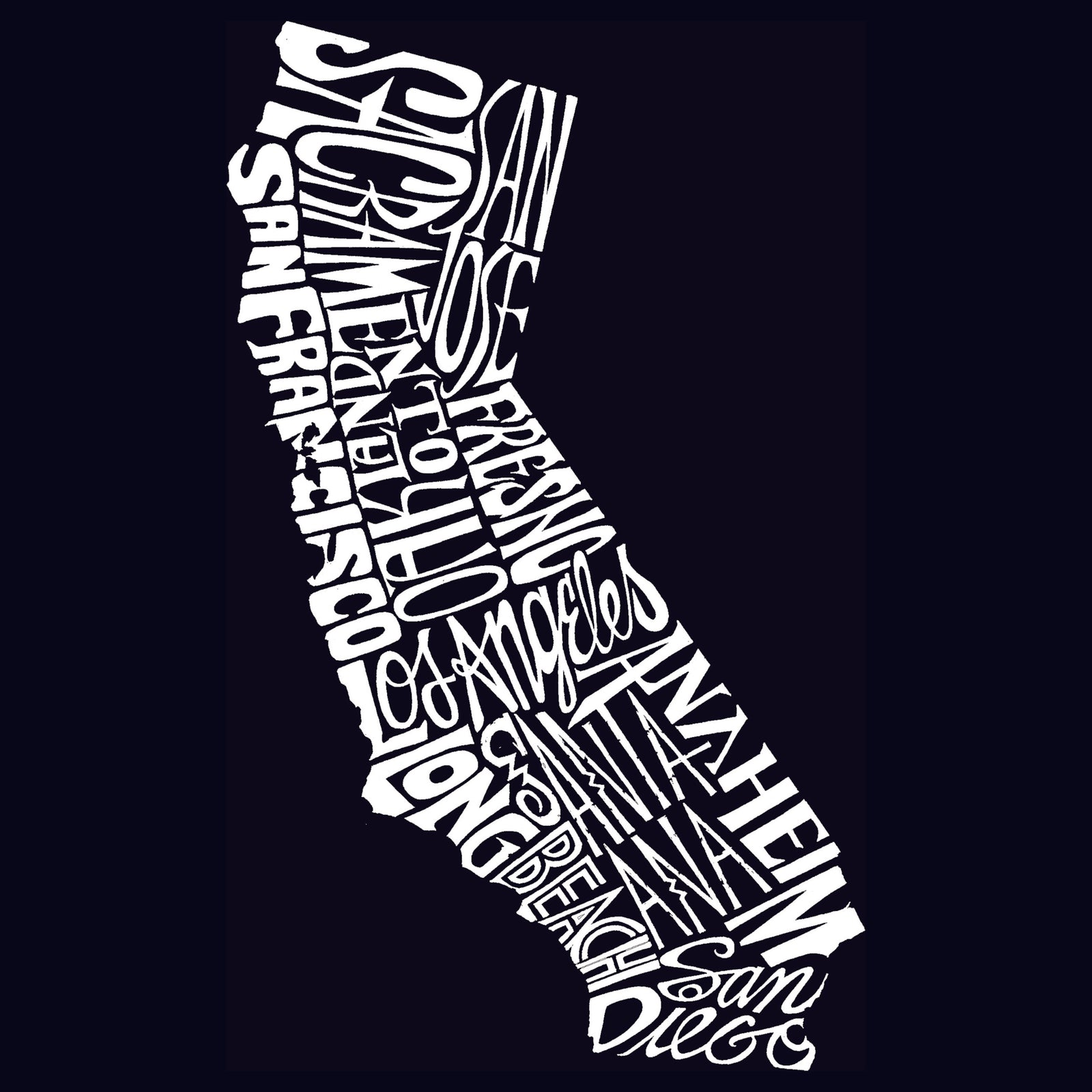 Girl's T-shirt - California State