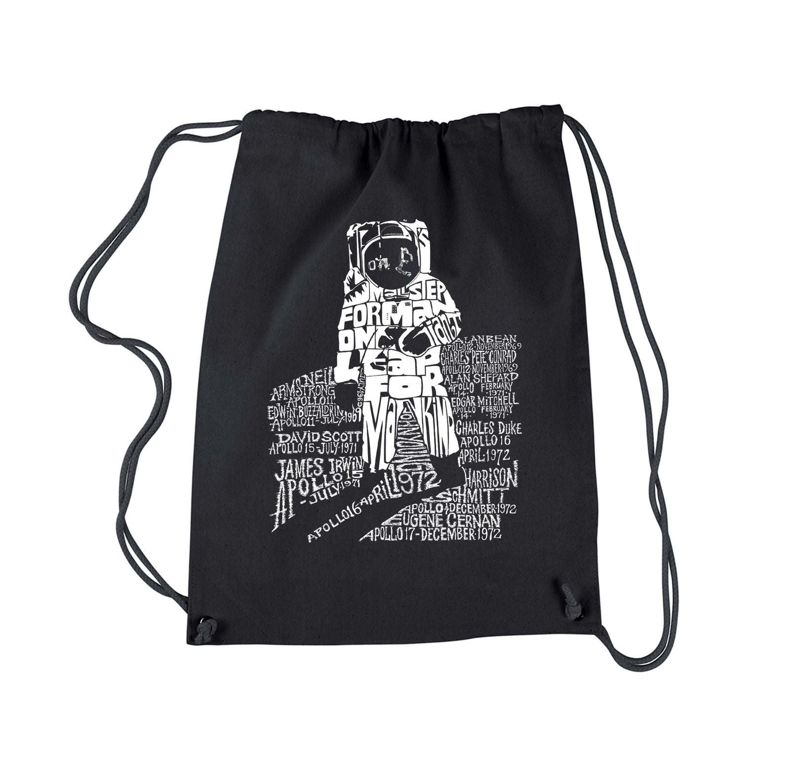 Drawstring Backpack - ASTRONAUT