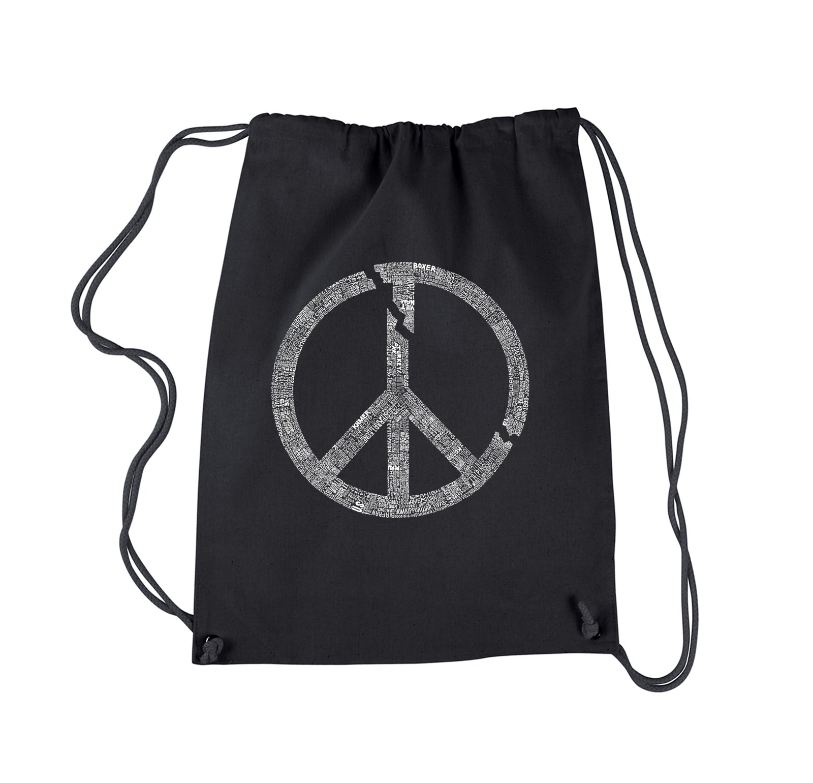 Drawstring Backpack - EVERY MAJOR WORLD CONFLICT SINCE 1770