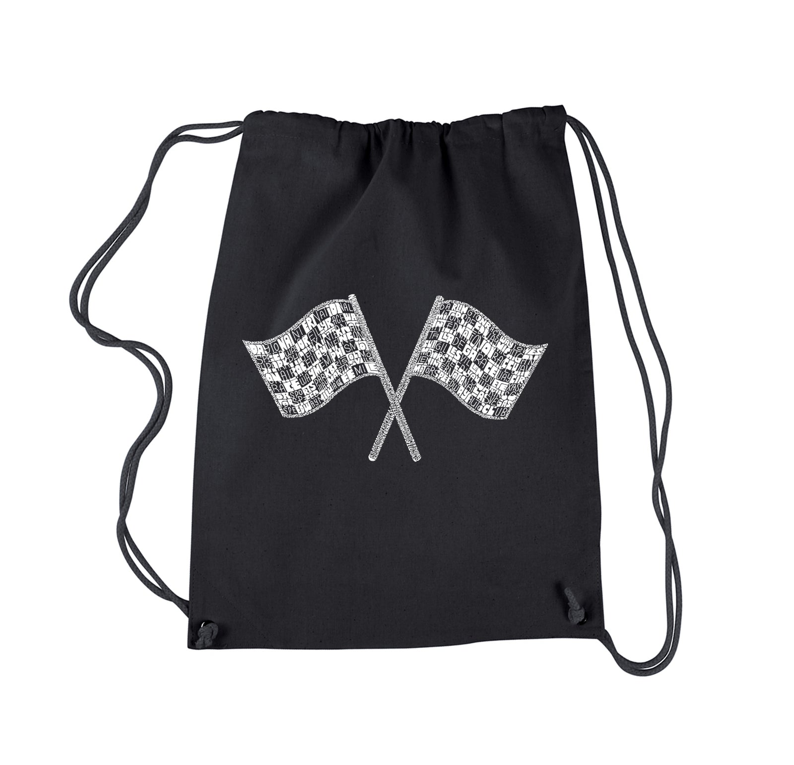 Drawstring Backpack - NASCAR NATIONAL SERIES RACE TRACKS
