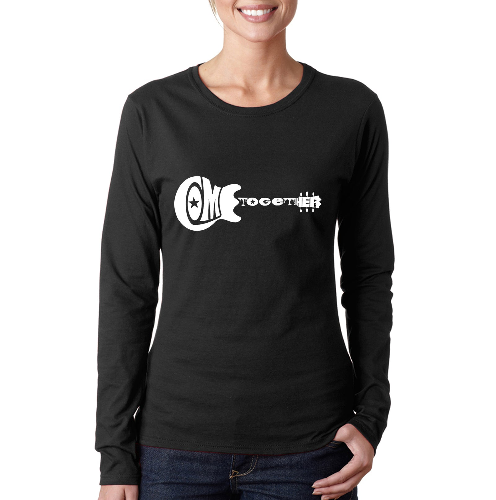 Women's Long Sleeve T-Shirt - COME TOGETHER