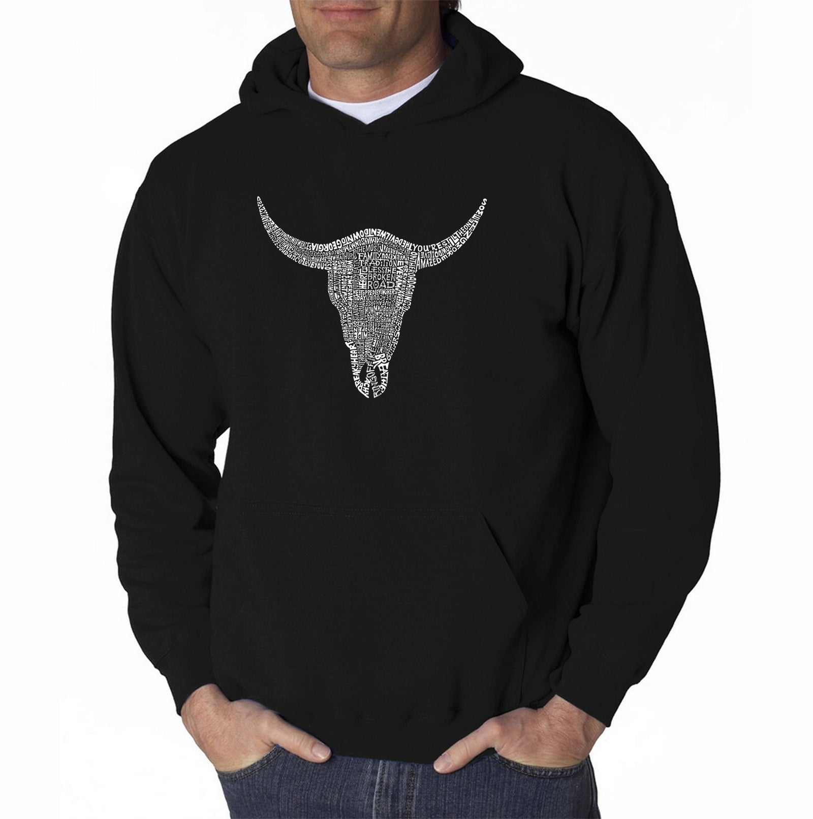 Men's Hooded Sweatshirt - COUNTRY MUSIC'S ALL TIME HITS