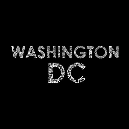 Boy's Hooded Sweatshirt - WASHINGTON DC NEIGHBORHOODS