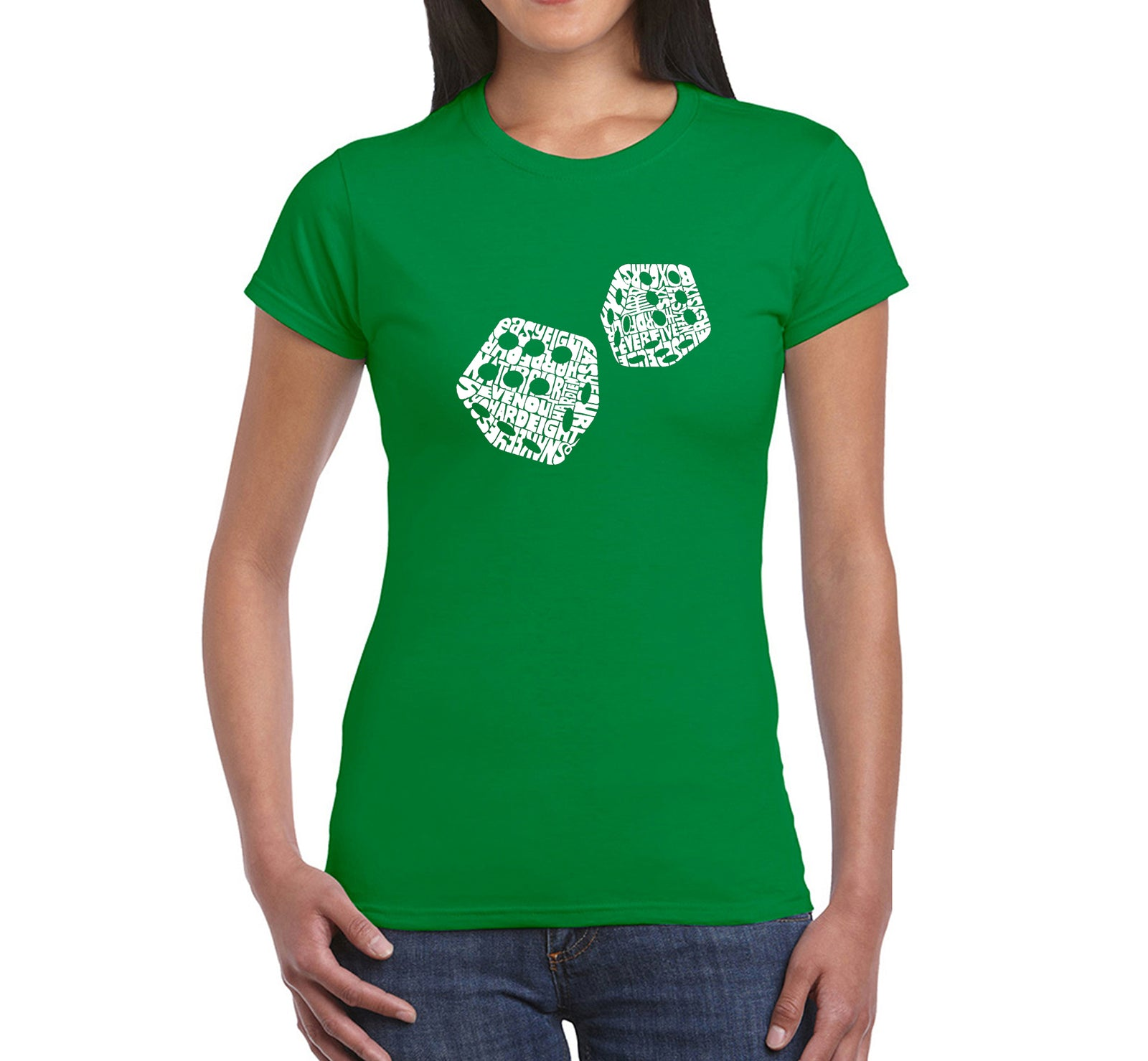 Women's T-Shirt - DIFFERENT ROLLS THROWN IN THE GAME OF CRAPS