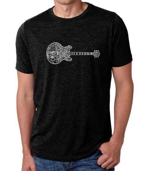 Men's Premium Blend Word Art T-shirt - Blues Legends
