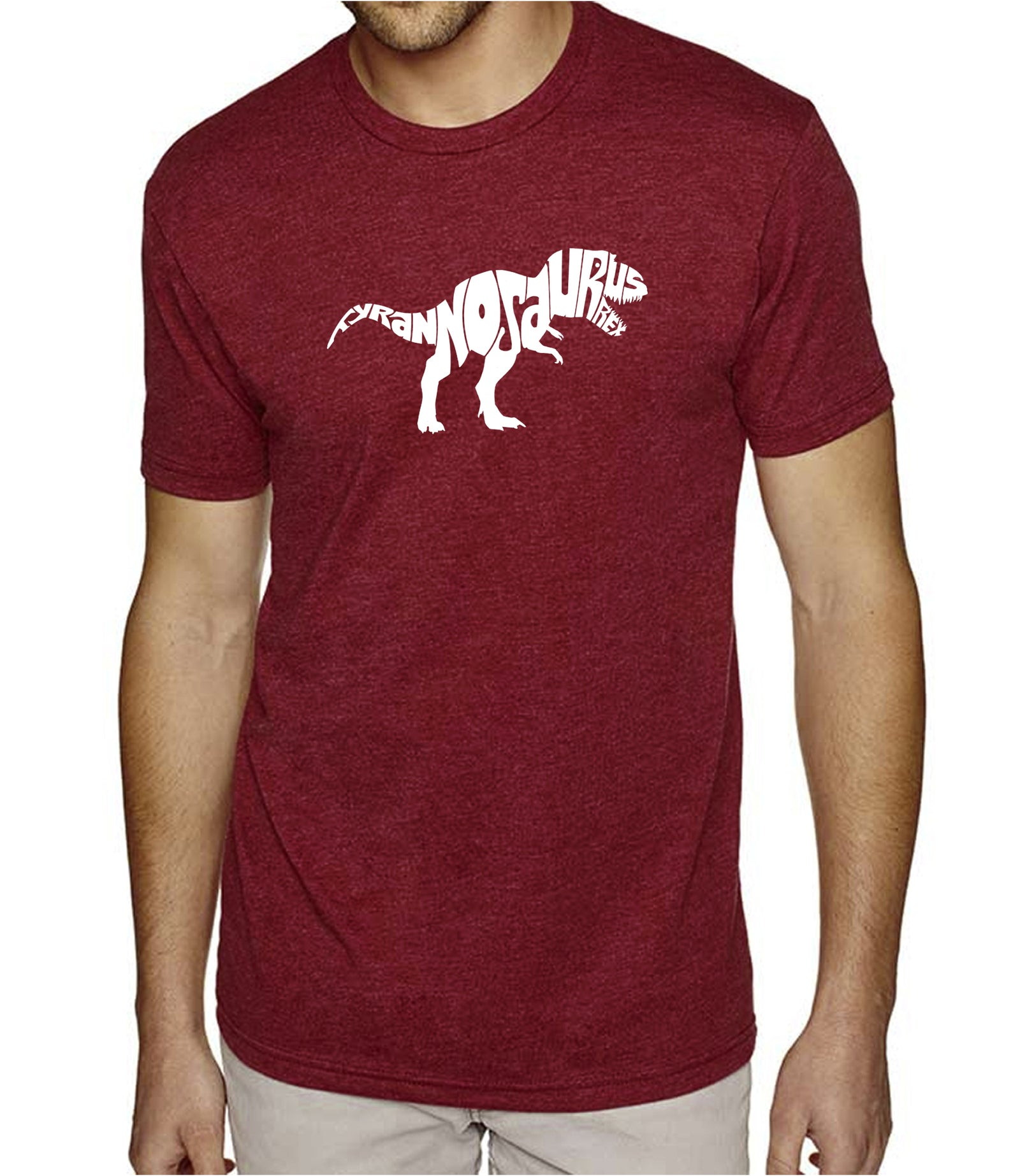 Men's Premium Blend Word Art T-shirt - TYRANNOSAURUS REX
